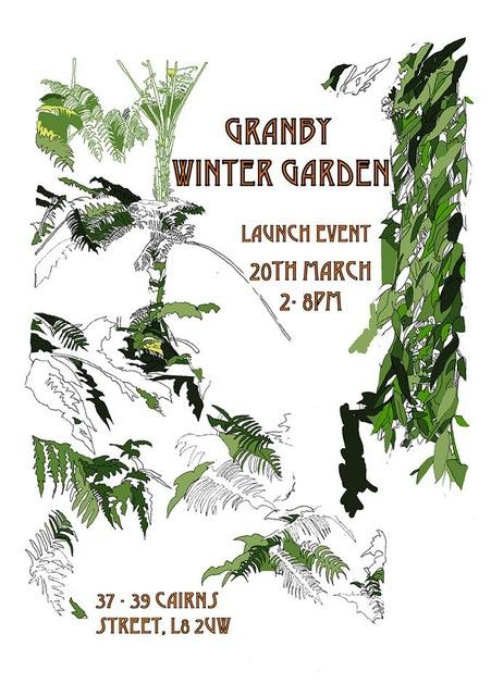 Cairns Street: Celebrating Granby Winter Garden Liverpool 8