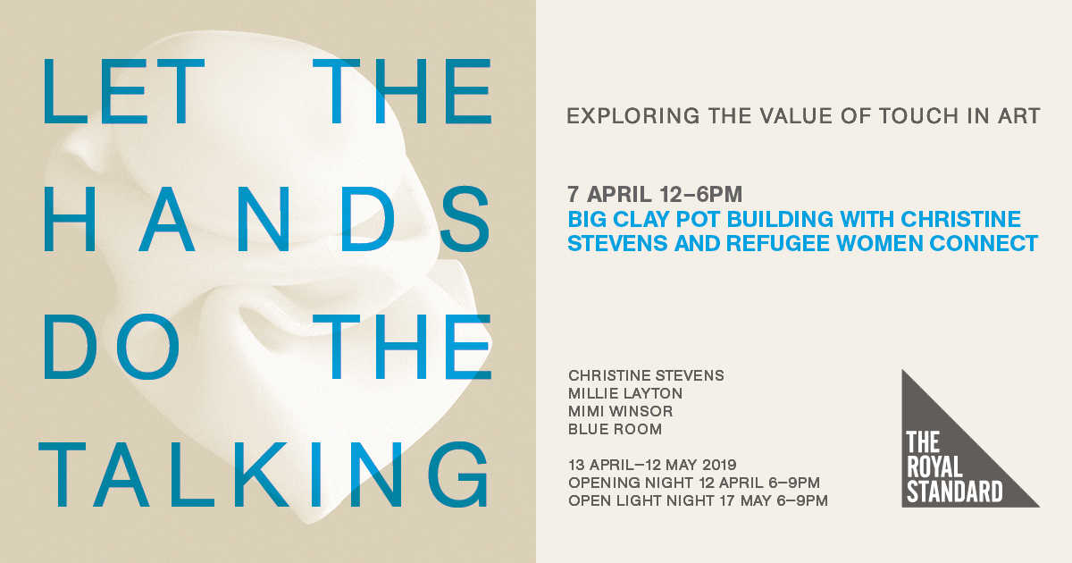 The Royal Standard: Big Clay Pot Building with Christine Stevens and Refugee Women Connect