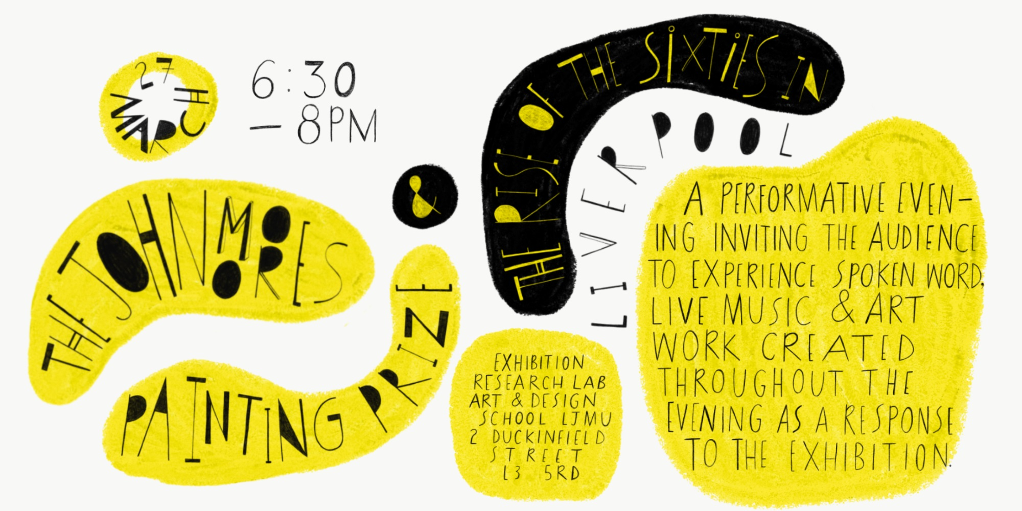 Exhibition Research Lab: Rise- Performative evening: visual art, live music and spoken word