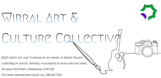 Spider Projects: W.A.A.C. Wirral Art & Culture Collective