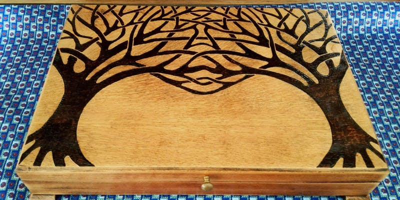 Make. North Docks: Introduction to Pyrography