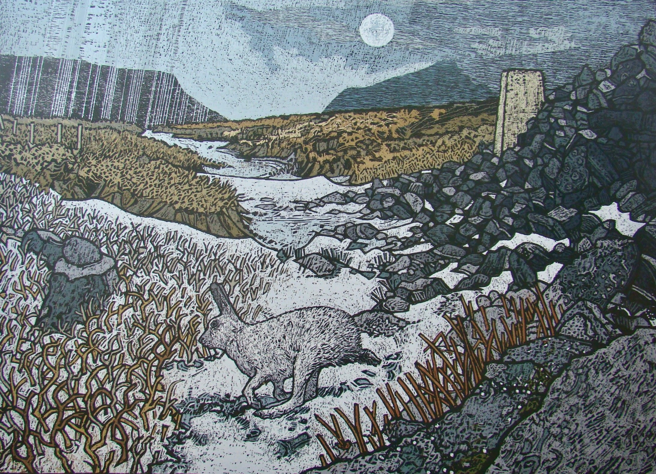 Kirkby Gallery: Printmaking with Anthony Ratcliffe