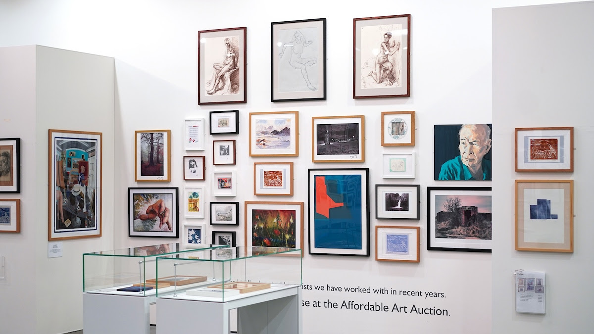Kirkby Gallery: Knowsley Affordable Art Auction Kirkby Gallery