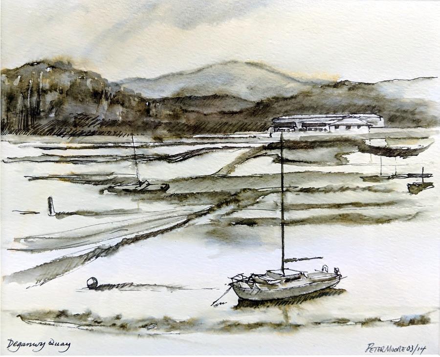 Corke Art Gallery: Peter Moore - drawing lots