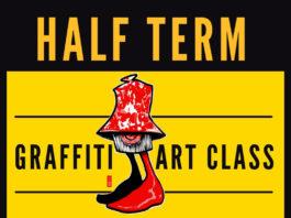 Zap Graffiti: Easter weekend Graffiti art classes