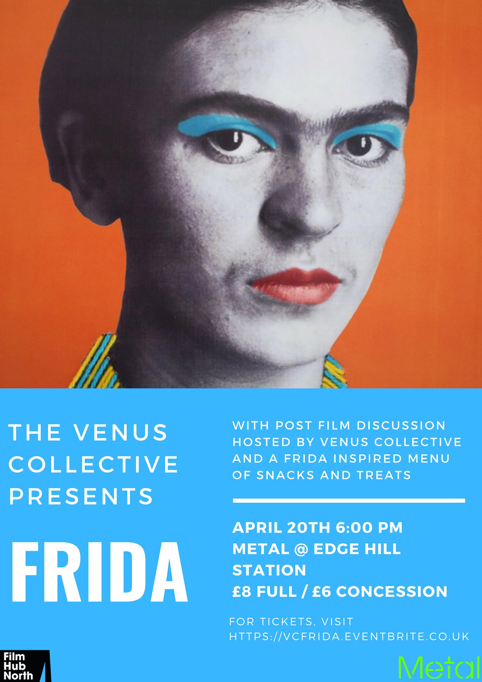 Metal: The Venus Collective presents: Frida