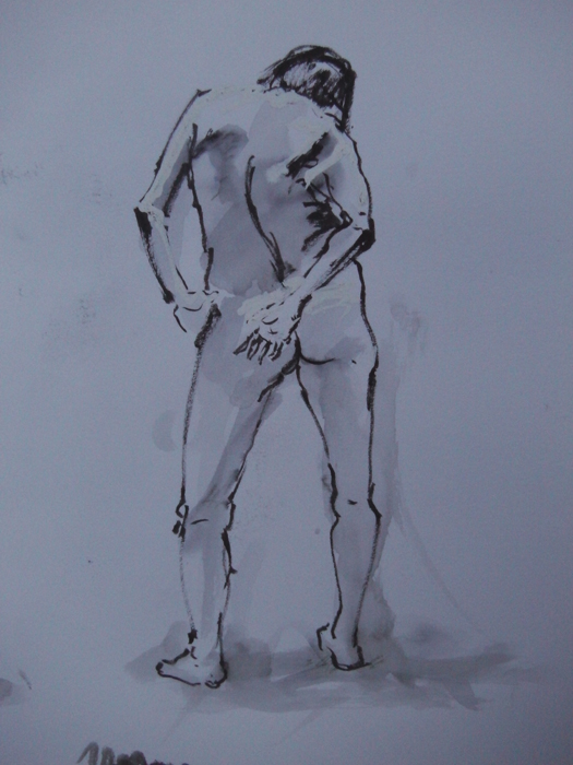 Rose Lane Studio: Drypoint Etching From the Life Model
