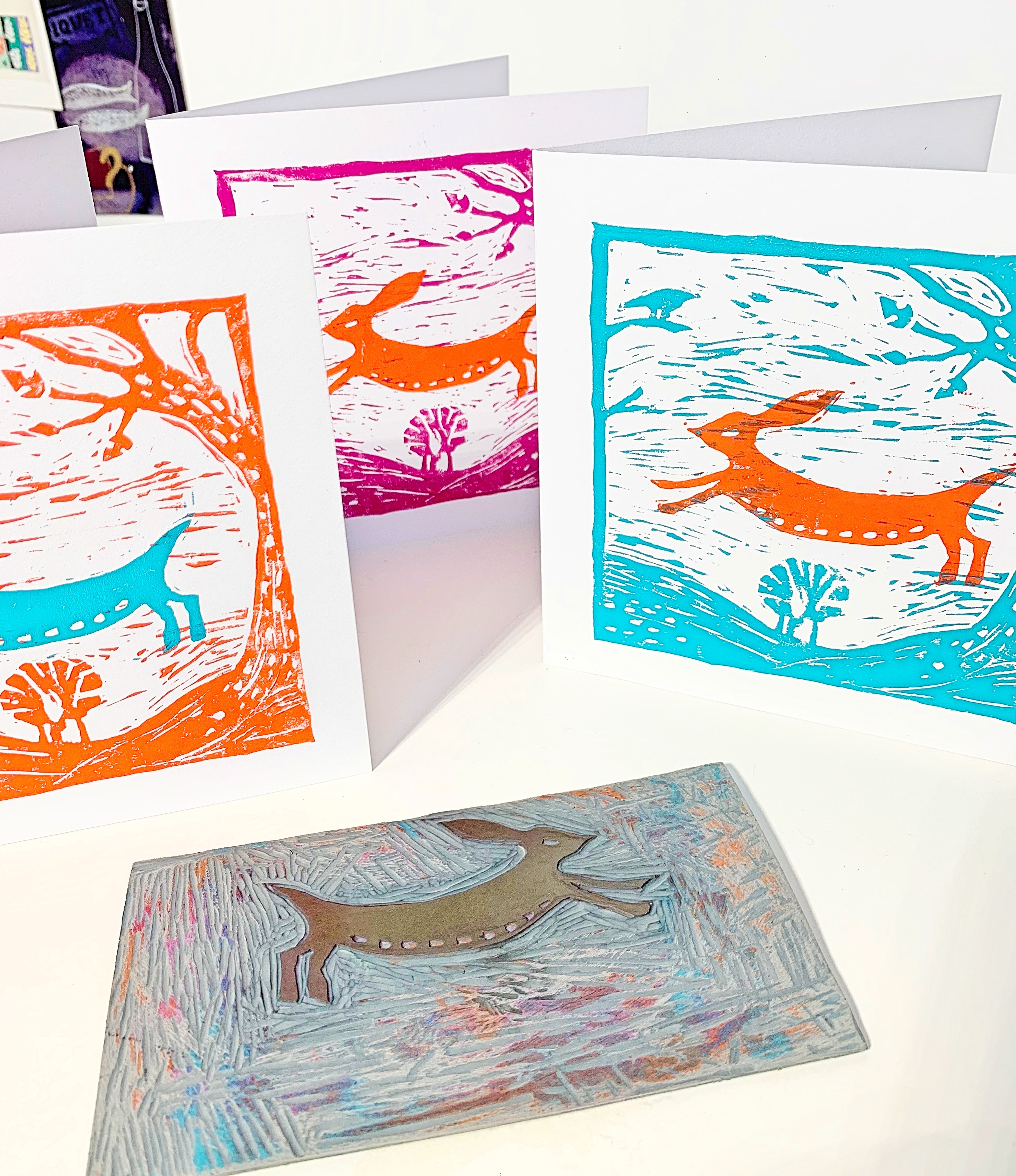Cass Art: Lino Cut & Print