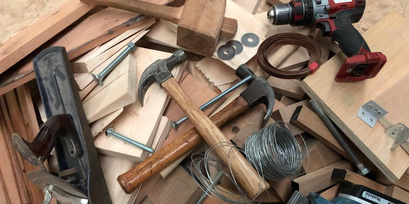 Make. North Docks: Introduction to Woodwork: Scrap Wood Challenge