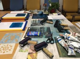 Bluecoat Display Centre: Free BBC Get Creative workshop: Printmaking with Gill Curry