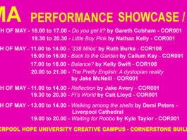 Liverpool Hope University: MA Performance Showcase