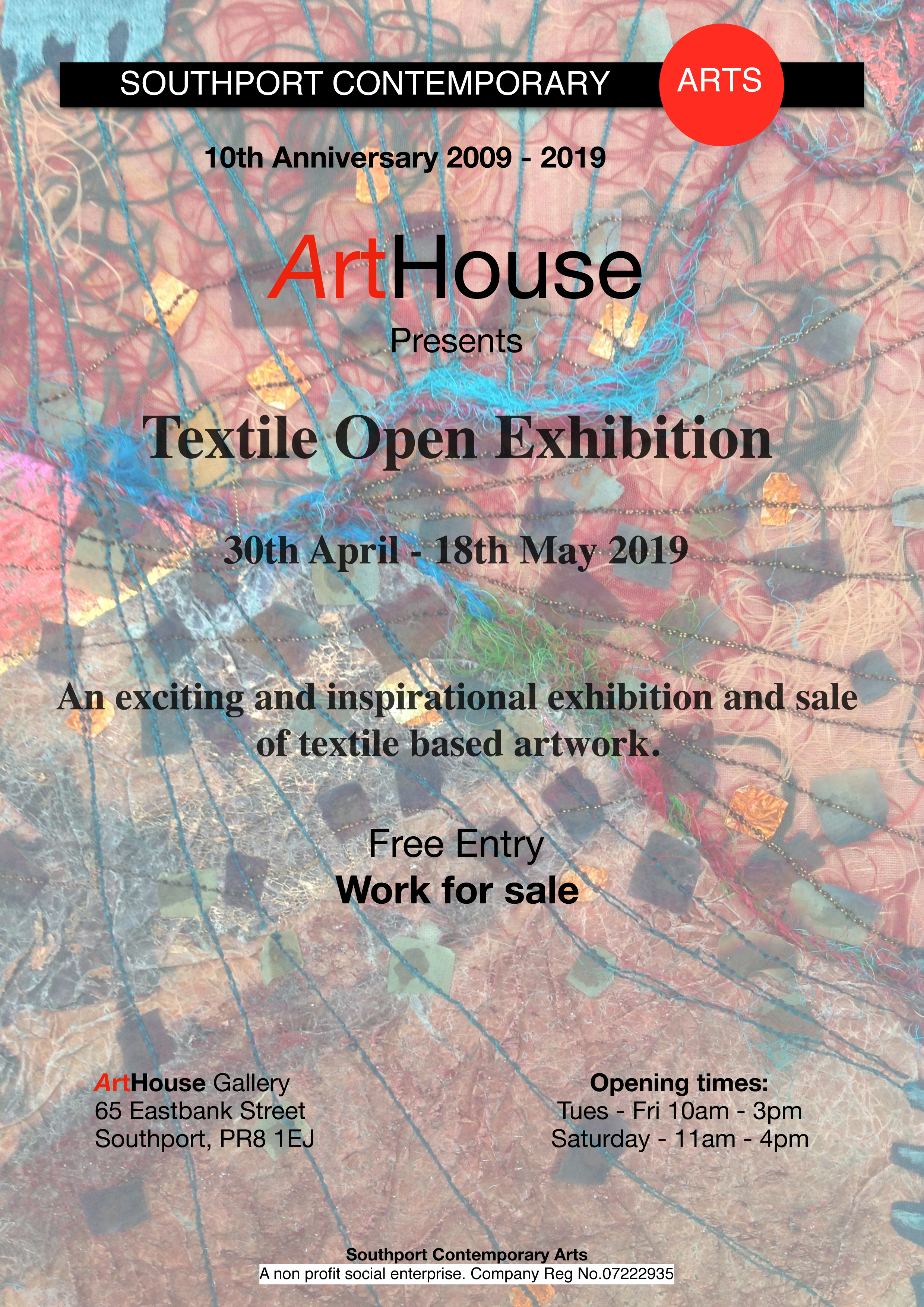 ArtHouse SCA: Textiles Open Exhibition