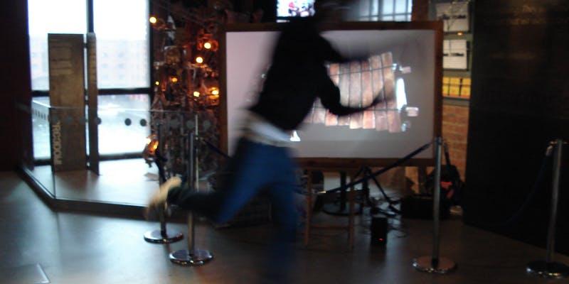 John Lennon Art & Design Building: Interactive Video Workshop - Liverpool