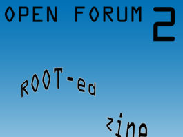 Exhibition Research Lab: Open Forum 2 - ROOT-ed Zine
