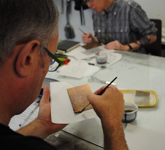 Bluecoat: Etching Workshops - Introduction and Intermediate
