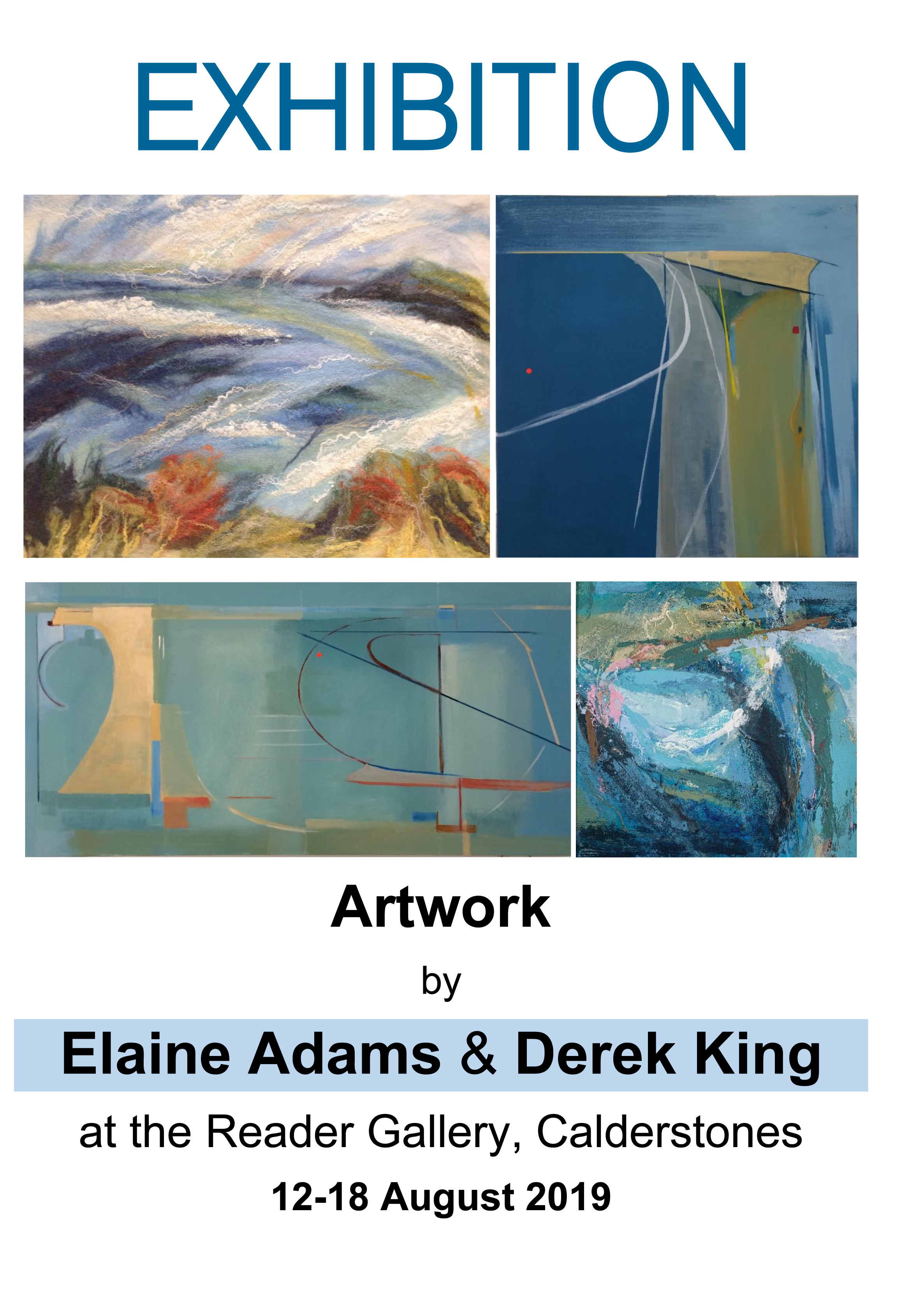 The Reader Gallery: Elaine Adams & Derek King