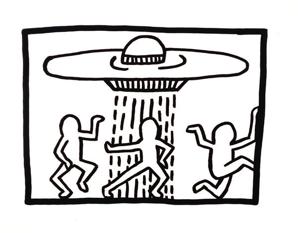 Tate Liverpool: We The Youth - Keith Haring's New York Nightlife by Dave Haslam