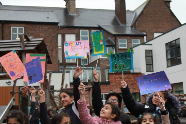 Bluecoat: Rise Up! Children & Young People's Gallery