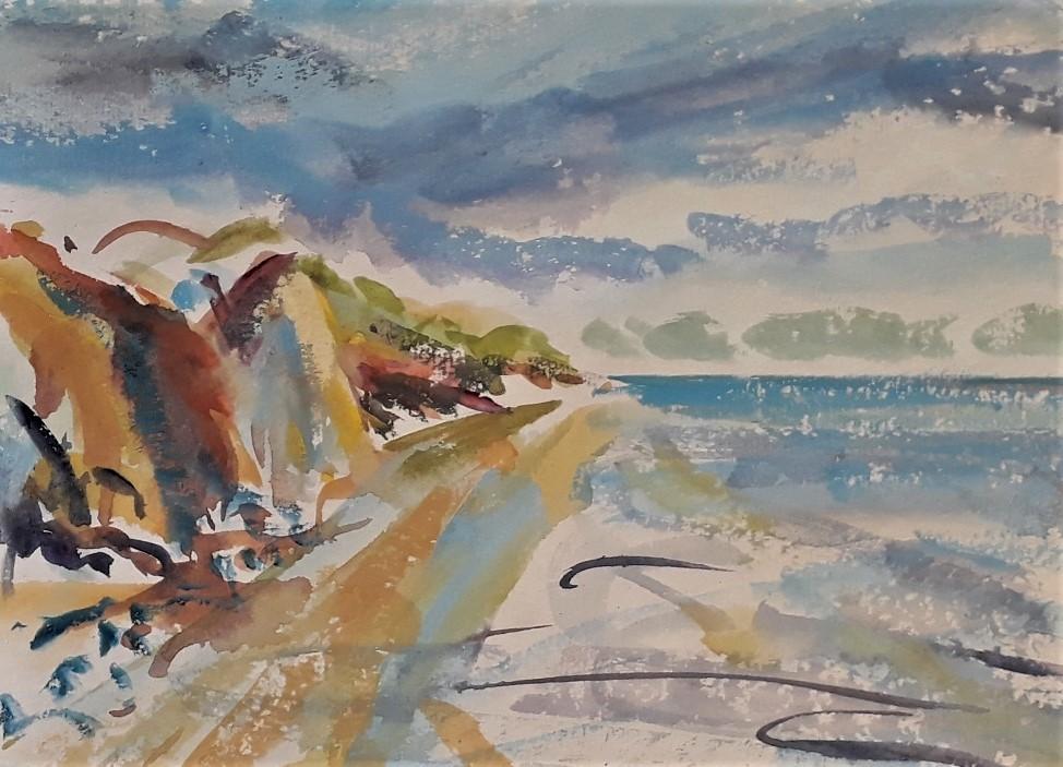 """Staacks:""""Wirral Coastline"""" by Christine Holme"""