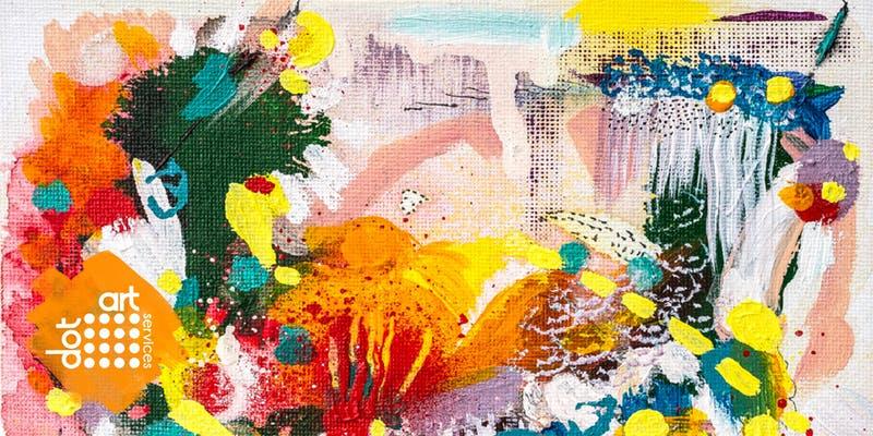 Bluecoat: dot-art: Abstract Painting ( 3 x Sundays)