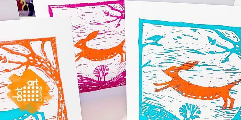 The Reader: dot-art: Lino Cut for Beginners
