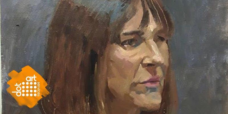 Bluecoat: dot-art: Portrait Painting