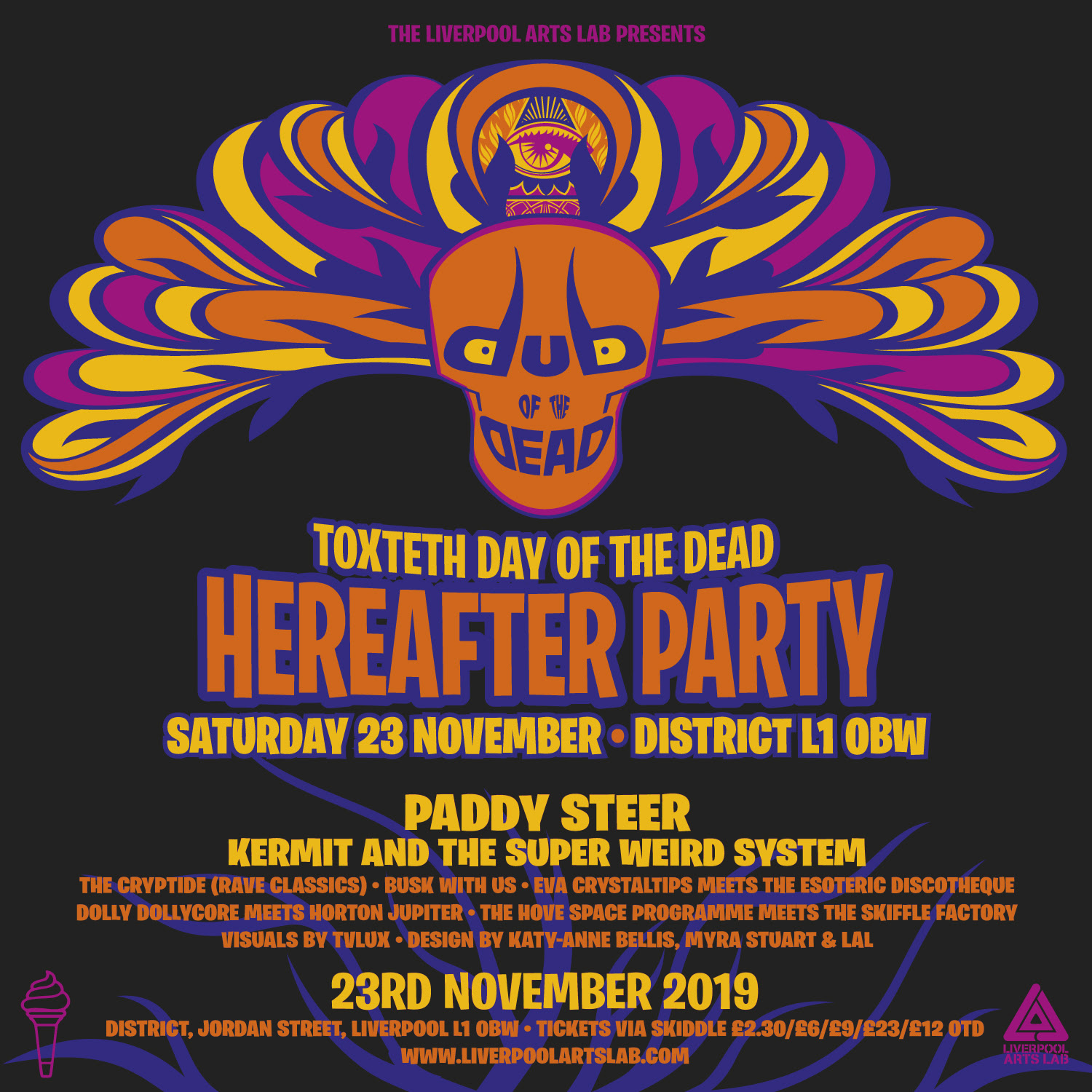 District: Toxteth Day of the Dead Hereafter Party