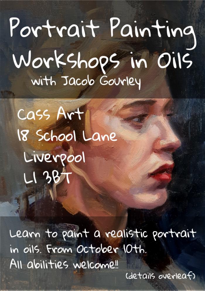 Cass Art: Portrait Painting Workshops in Oils