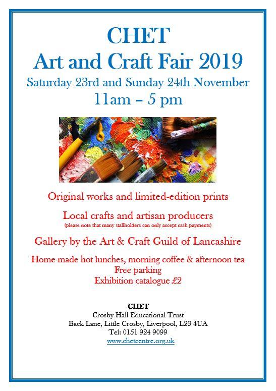 Crosby Hall Educational Trust: CHET Art and Craft Fair