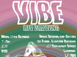 Arena Studios & Gallery: VIBE Life Drawing