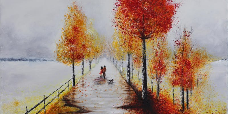 dot-art: A Walk in Autumn