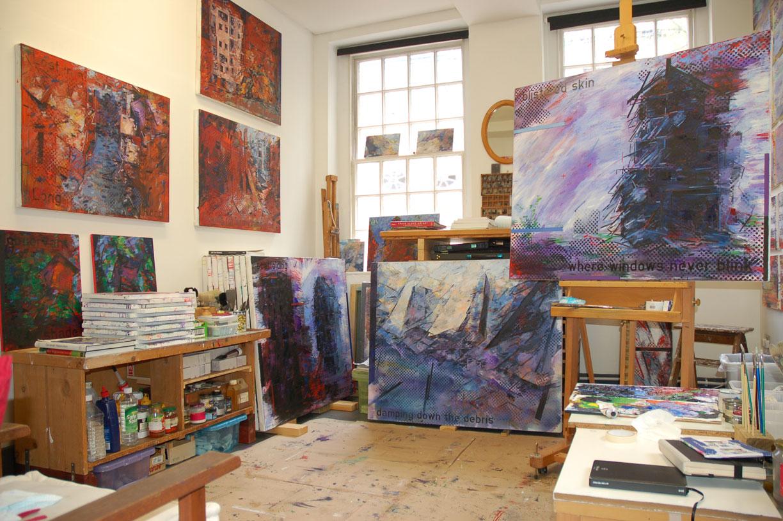 Liverpool Open Studios 2019: Pete Clarke: Bluecoat Studio 4