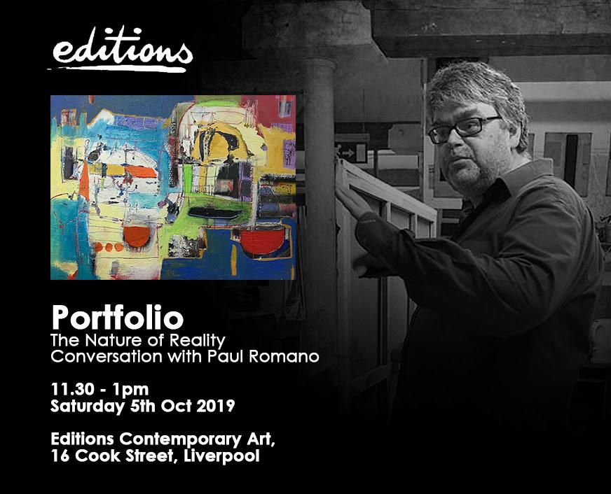Editions LTd: Portfolio - a discussion with Paul Romano