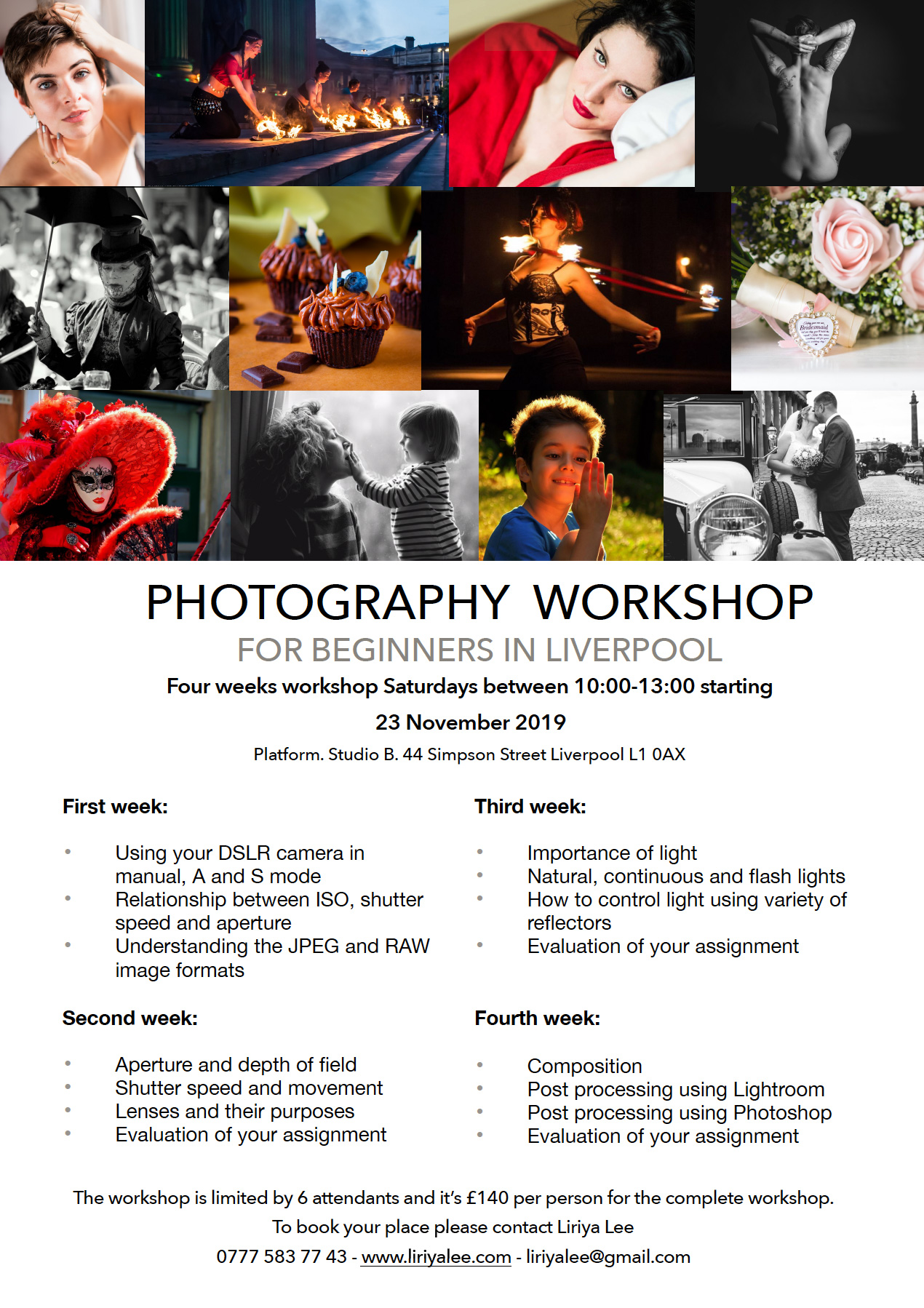 Baltic Creative: Photography Workshops for Beginners
