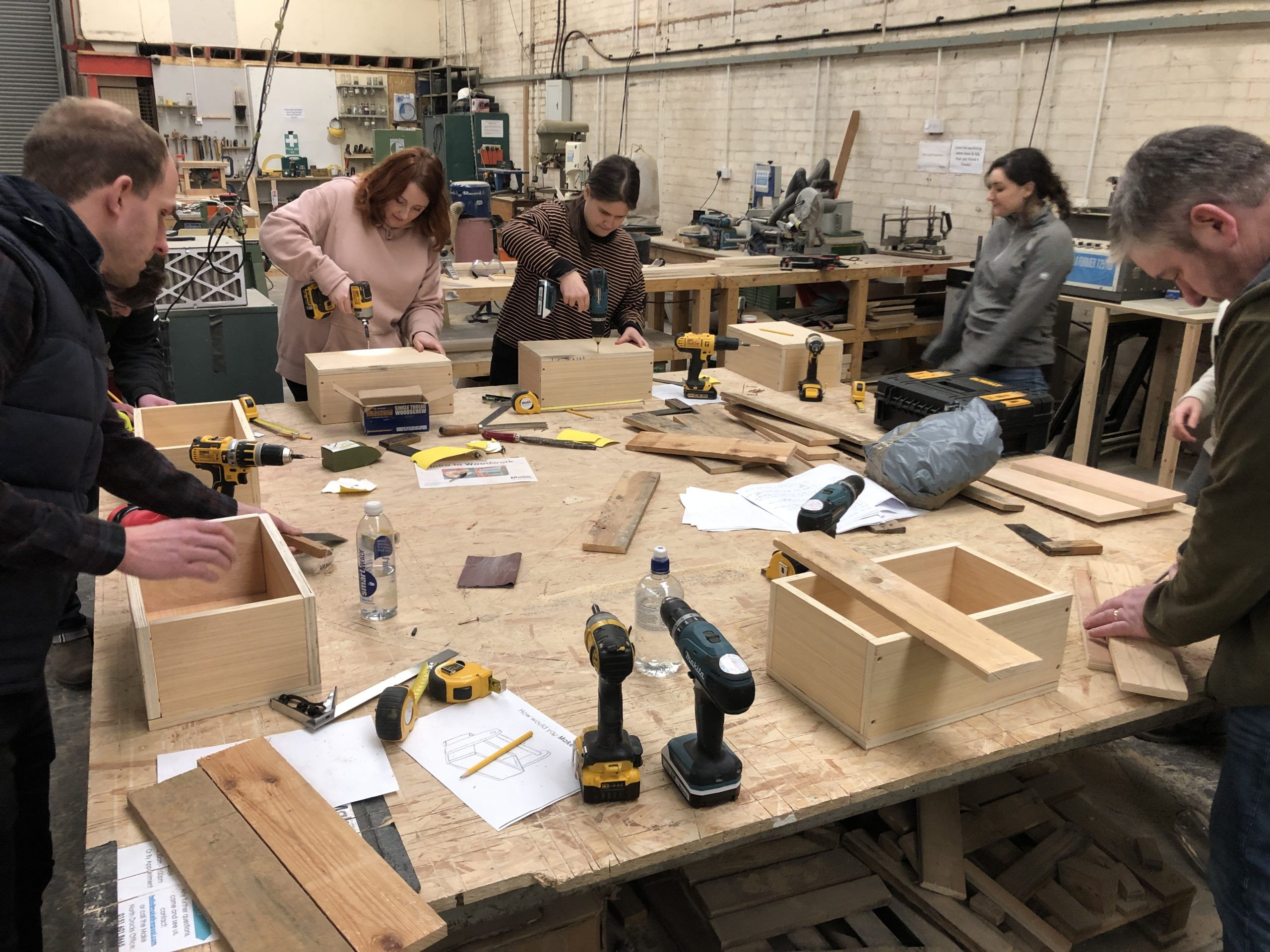 Make. Liverpool: Introduction to Woodwork: Build a Wine Rack