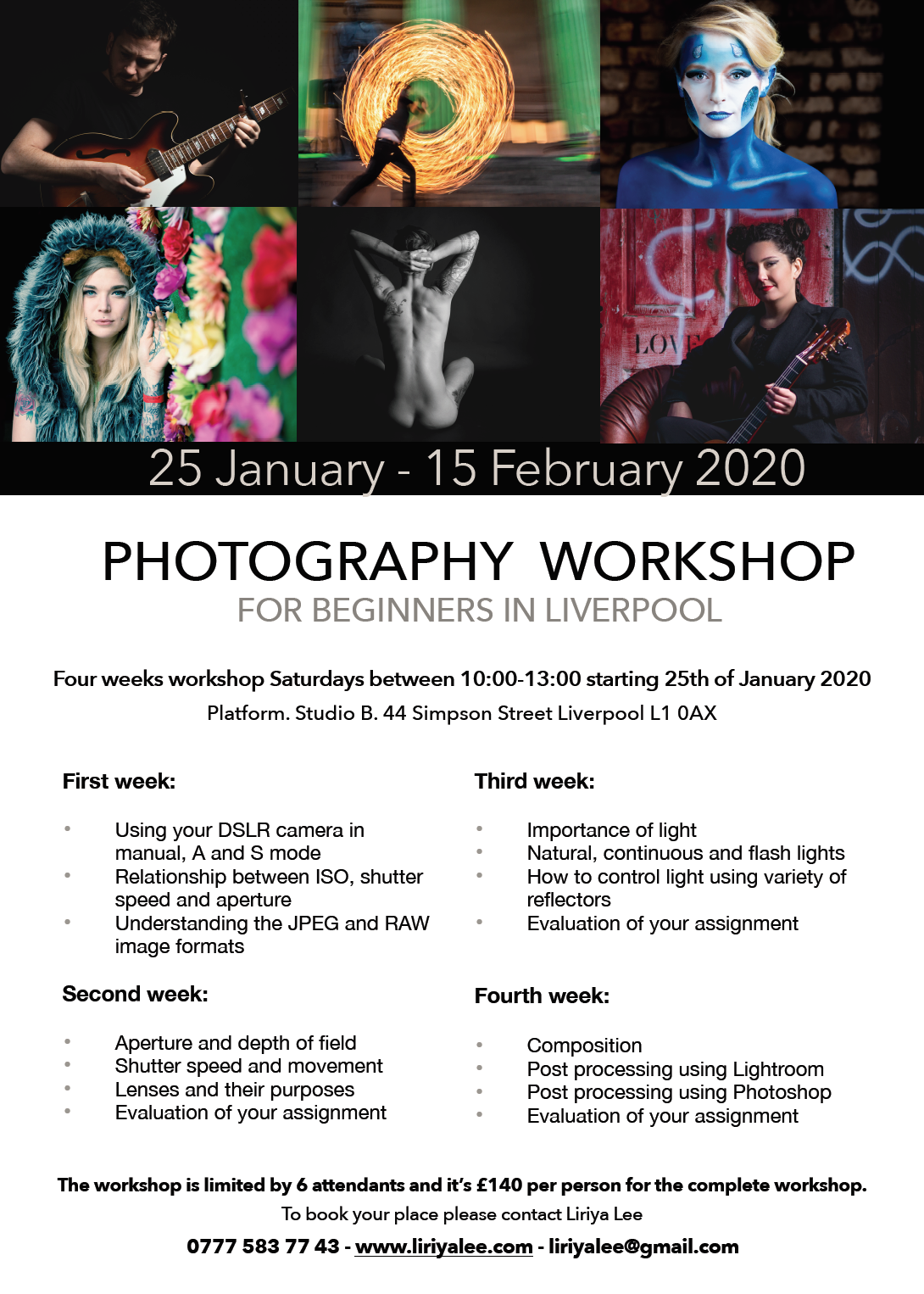 Baltic Creative: Photography Workshop for Beginners