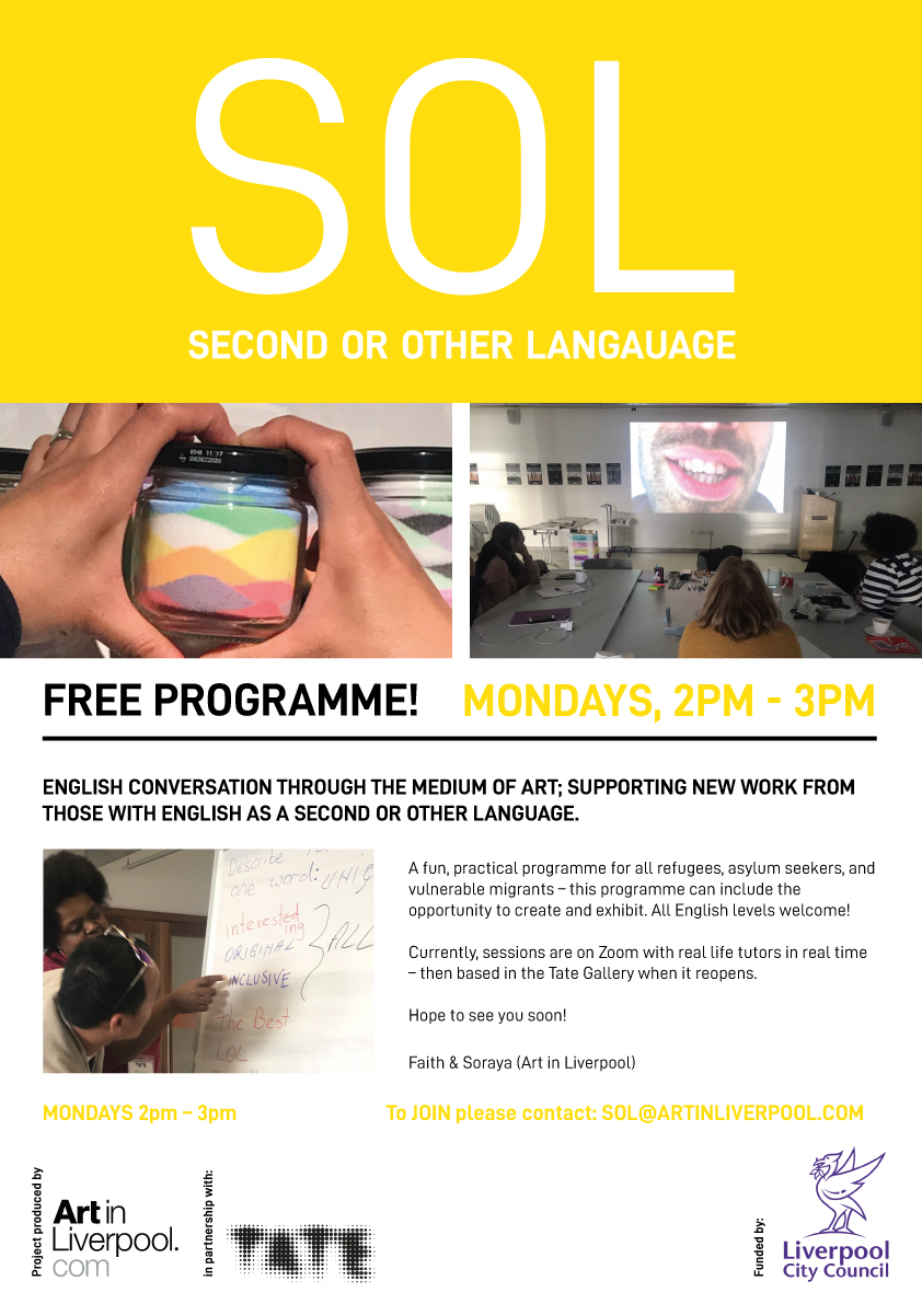 Tate Liverpool: SOL - Second or Other Language