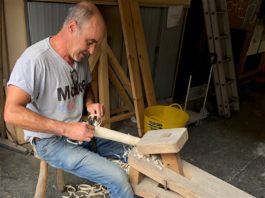 Make North Docks: Greenwood Woodwork - Stool Making