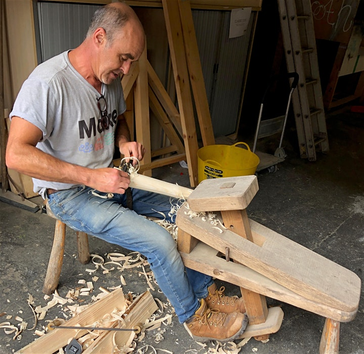 Make North Docks: Greenwood Woodwork - Stool Making