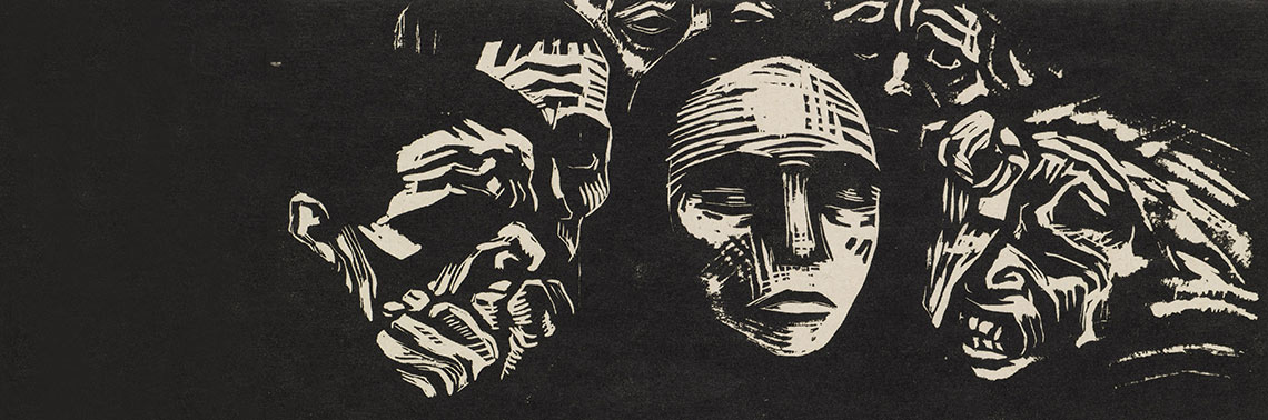 Lady Lever Art Gallery: German Revolution Expressionist prints