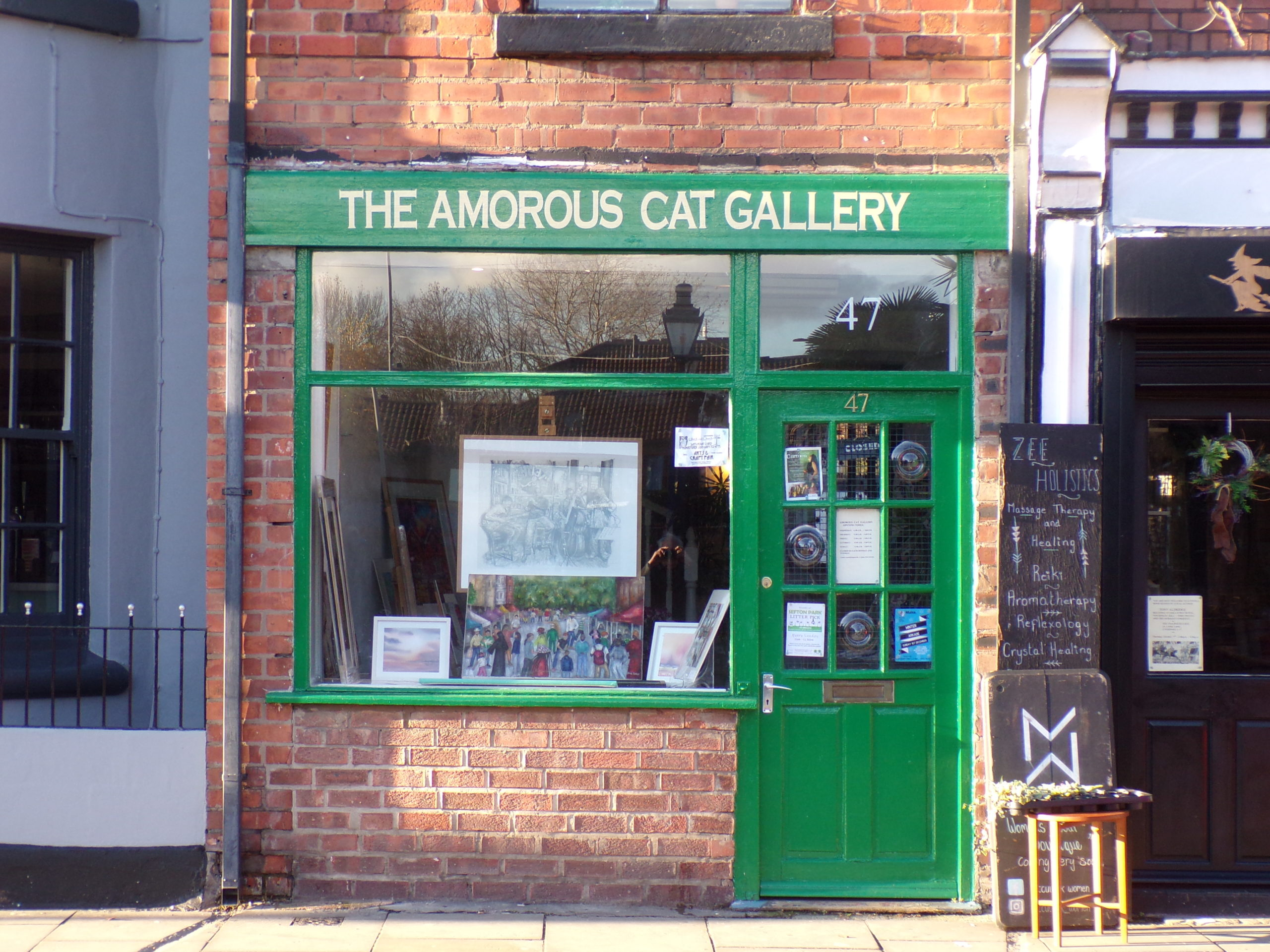 The Amorous Cat Gallery