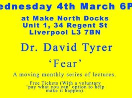 Make.North Docks: Thinking Out Loud: David Tyrer 'Fear'
