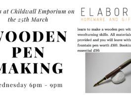 Childwall Emporium: Wooden pen making