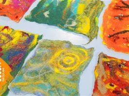 The Reader: dot-art: Textile Arts