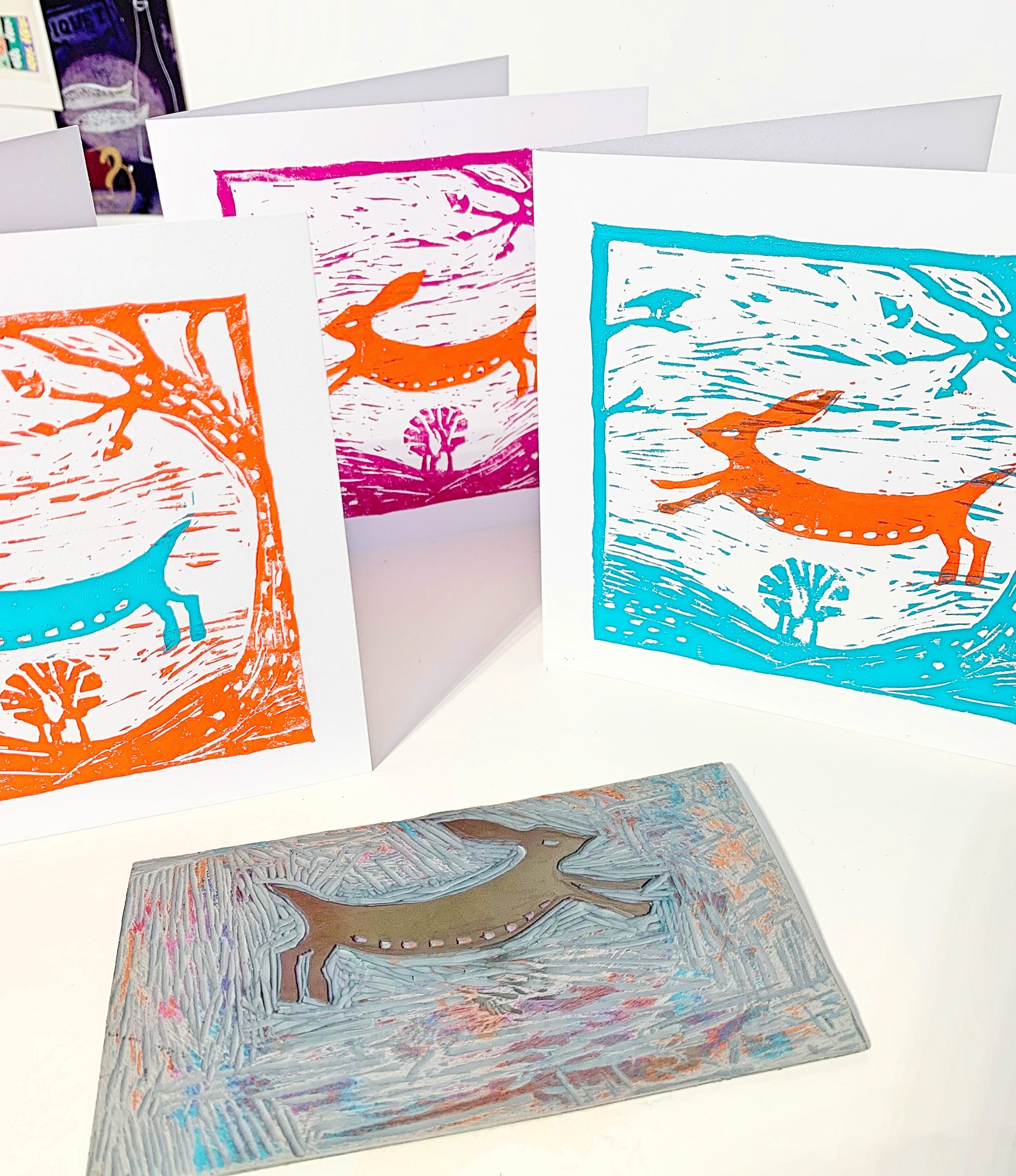 dot-art (Online): Introduction to Lino Cut