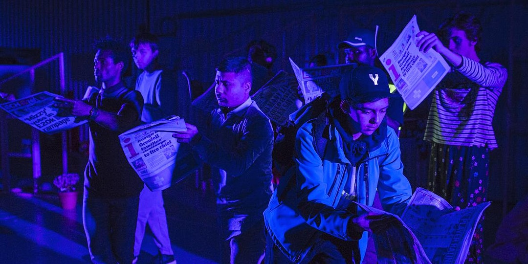 Collective Encounters (Online): Political Engagement in Youth Arts Practice