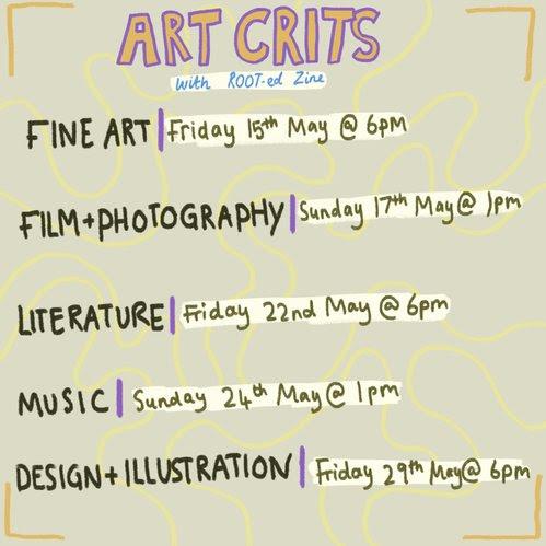 Online: Art Crits w/ ROOT-ed Zine