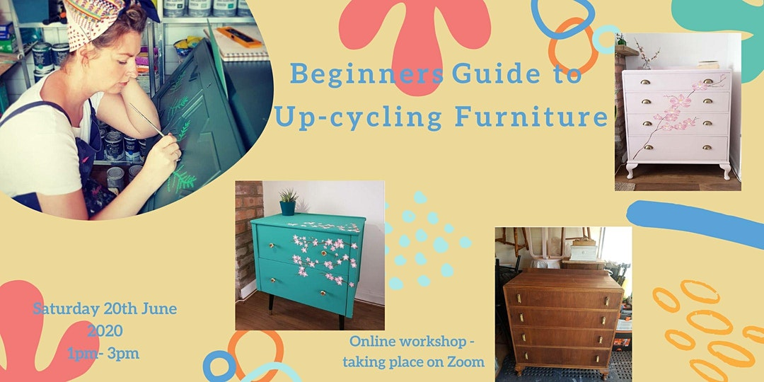 Make CIC (Online): Beginners guide to up-cycling furniture