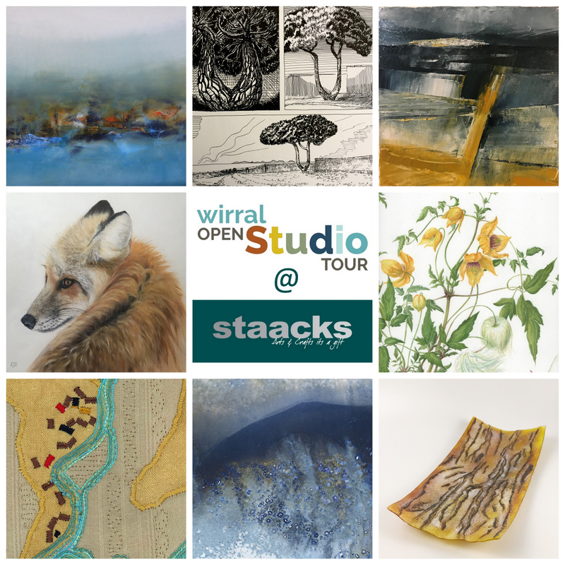 Staacks: Wirral Open Studios Tour @ Staacks