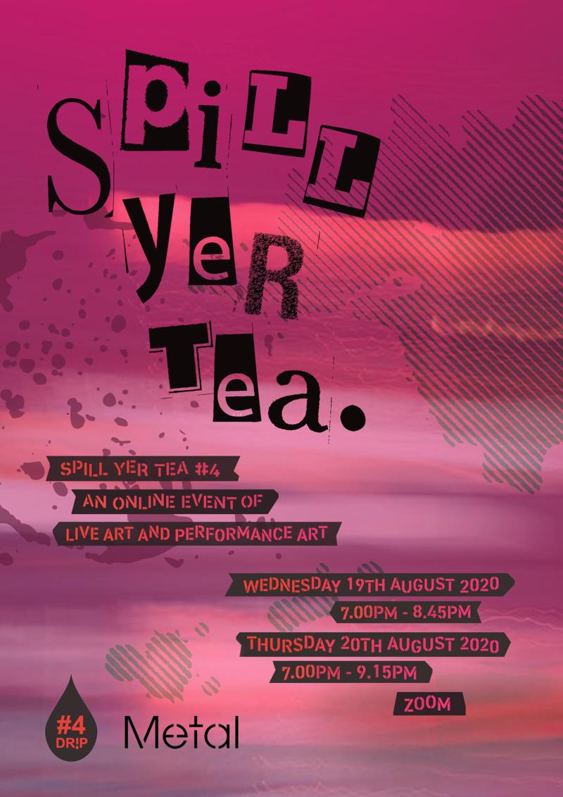 DRIP (Online): SPILL YER TEA